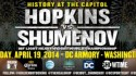 "BERNARD ""THE ALIEN"" HOPKINS AND BEIBUT SHUMENOV TO HOST NEW YORK CITY PRESS CONFERENCE"