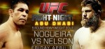 UFC FIGHT NIGHT 39 RESULTS – NELSON VS. NOGUEIRA & VIDEO KO HIGHLIGHT