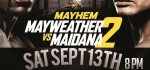MAYWEATHER VS. MAIDANA LIVE WEIGH-IN AT REAL COMBAT MEDIA BOXING & @T STREET CONTROVERSY LIVE CHANNEL 6PMET