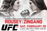 UFC 184 ROUSEY VS. ZINGANO WEIGH-IN ON REAL COMBAT MEDIA MMA (4PMPT-7PMET)