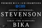 ADONIS STEVENSON MEDIA WORKOUT 3/30/15 COURTESY OF PBC ON CBS