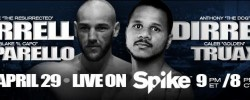 DIRRELL VS CAPARELLO & DIRRELL VS. TRUAX WEIGH-IN PHOTOS