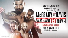 "LIAM MCGEARY SET TO DEFEND LIGHT HEAVYWEIGHT GOLD IN MAIN EVENT CLASH WITH PHIL ""MR. WONDERFUL"" DAVIS"