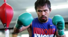 MANNY PACQUIAO'S QUOTES AND MEDIA WORKOUT VIDEO
