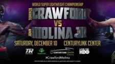 TERENCE CRAWFORD / JOHN MOLINA JR. MEDIA WORKOUT QUOTES AND PRESS CONFERENCE