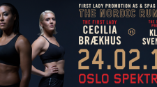 Cecilia Brækhus vs Klara Svensson Weigh-in & Press Conference Video in Oslo