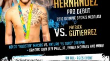 Patrick Gutierrez vs. 2016 Olympic bronze medalist Nico Hernandez on CBS Sports Network