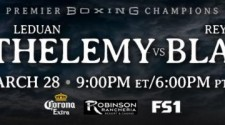 Unbeaten Prospect Leduan Barthelemy Drops & Stops Reynaldo Blanco in Round Nine of Premier Boxing Champions TOE-TO-TOE TUESDAYS