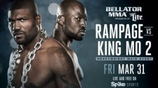 RAMPAGE JACKSON VS. KING MO BELLATOR 175 PRESS CONFERENCE & WEIGH-IN VIDEO