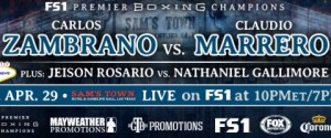 CLAUDIO MARRERO SCORES FIRST ROUND KNOCKOUT OF CARLOS ZAMBRANO IN THE MAIN EVENT OF PBC