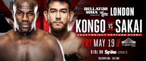 CHEICK KONGO AGAINST AUGUSTO SAKAI ADDED TO BELLATOR 179