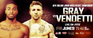 FITE TV to stream New England Jr. Middleweight Championship on PPV, June 9, from Rhode Island
