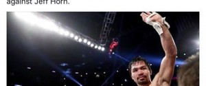 ESPN to Televise Manny Pacquiao's First Non-PPV Fight Since September 2005