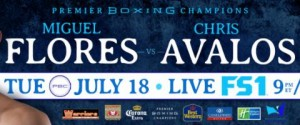 Chris Avalos Gets Controversial TKO Victory Over Miguel Flores after Five Rounds of Premier Boxing Champions TOE-TO-TOE TUESDAYS