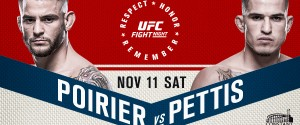 NO. 8 LIGHTWEIGHT DUSTIN POIRIER TO FACE FORMER CHAMPION ANTHONY PETTIS IN UFC NORFOLK MAIN EVENT SATURDAY, NOV. 11