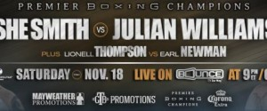 "Ishe Smith Clashes With Top 154-Pound Contender Julian ""J-Rock"" Williams"