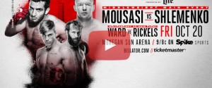 Bellator 185: Mousasi vs. Shlemenko Weigh-in & Live Prelim Card