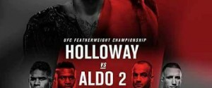 JOSE ALDO REPLACES FRANKIE EDGAR TO GET THE CHAMPIONSHIP REMATCH WITH MAX HOLLOWAY AT UFC 218