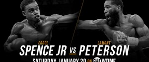 ERROL SPENCE JR VS LAMONT PERTERSON IS OFFICIAL