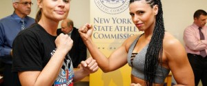 WEIGH-IN RESULTS FOR THURSDAY'S BROADWAY BOXING CARD