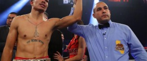 "CARLOS ""THE SOLUTION"" MORALES EARNS VACANT NABA SUPER FEATHERWEIGHT TITLE IN MAIN EVENT OF GOLDEN BOY BOXING ON ESPN"
