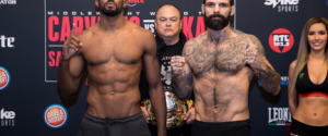 FULL WEIGH-IN RESULTS FOR BELLATOR 190 AND BELLATOR KICKBOXING 8 FROM FLORENCE, ITALY
