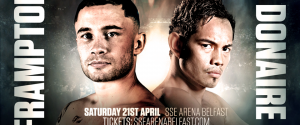 CARL FRAMPTON VS. NONITO DONAIRE IS SET