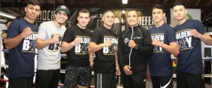 JOSEPH 'JOJO' DIAZ, JR. AND VICTOR 'VIKINGO' TERRAZAS PLUS UNDERCARD FIGHTERS LOS ANGELES MEDIA WORKOUT  QUOTES, PHOTOS AND VIDEOS