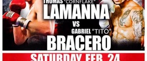 Odds Favor LaManna WBC Upset Over Bracero Saturday, Who Knows at Showboat?