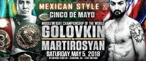 Vanes Martirosyan Replaces Canelo To Battle Gennady Golovkin