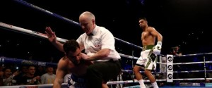 Amir Khan KOs Lo Greco in 39 Seconds, Charlo KOs Centeno Wins WBC Middleweight Interim Belt To Become GGG's Mandatory – Video Highlights