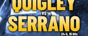 Undefeated Welterweight Gerome Quigley battles Raymond Serrano for USBA and WBC United States Welterweight titles on Saturday, June 16th in Maryland