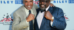 STAR-STUDDED EVENT FEATURED LIVE FIGHTSPRESENTED BY GOLDEN BOY PROMOTIONS & THE SUGAR RAY LEONARD FOUNDATION