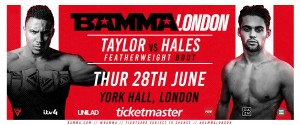 REAL COMBAT MEDIA UK: BAMMA MMA LONDON CARD TAKES PLACE ON THE 28TH OF JUNE