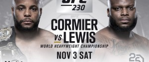 DERRICK LEWIS ACCEPTS SHORT NOTICE TITLE FIGHT TO FIGHT DANIEL CORMIER AT UFC 230