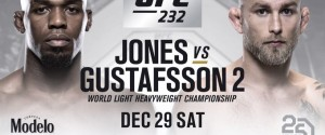 UFC 232 CARD IS SET WITH THE RETURN OF JON JONES & CYBORG VS. NUNES SUPER FIGHT