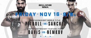 BELLATOR 209: PITBULL vs. SANCHEZ WEIGH-IN RESULTS & PHOTOS