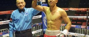 2012 U.S. OLYMPIC ALTERNATE EROS CORREA SCORES TKO VICTORY IN MEXICO