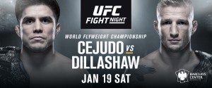 UFC FIGHT NIGHT ON ESPN+®: CEJUDO vs. DILLASHAW CARD IS SET