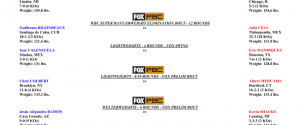 Official Weights & Photos for Sunday's Premier Boxing Champions on FOX Fight Night – Jermell Charlo vs. Jorge Cota