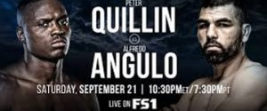 Peter Quillin Takes on Hard-Hitting Alfredo Angulo in FS1 PBC Fight Night Main Event & on FOX Deportes
