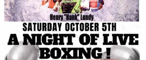 Hank Lundy Returns on the Delaware Regional Promotions Card