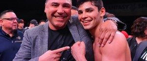 GOLDEN BOY AND RYAN GARCIA COME TO A DEAL