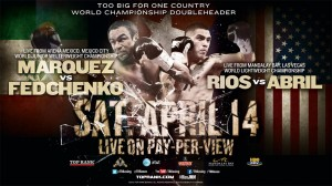 BRANDON RIOS / RICHARD ABRIL LAS VEGAS MEDIA WORKOUT QUOTES LAS VEGAS, NEV