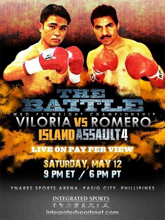 Viloria Stops Romero In 9