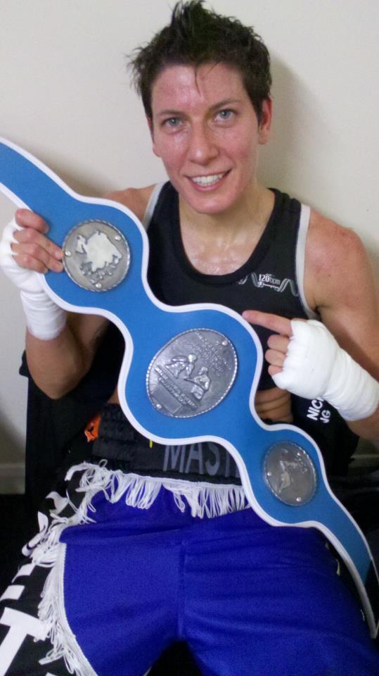 RCMGreece Boxing/MMA: Areti The Master Mastrodouka captures the International Masters Belt