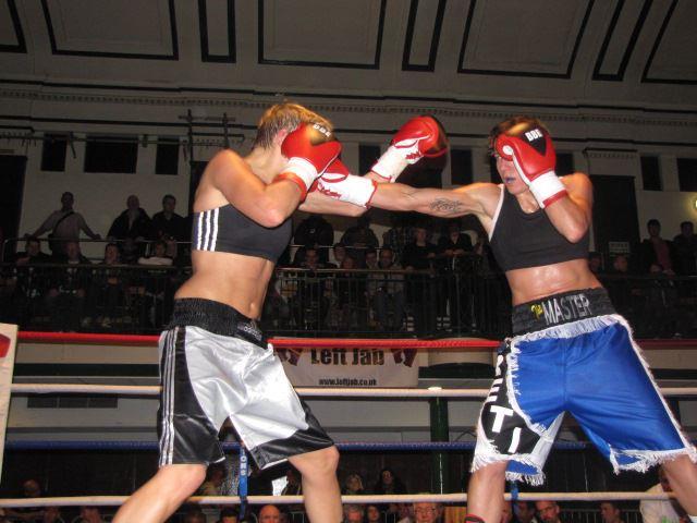 RCMGreece Boxing/MMA: Areti Mastrodouka vs Lara Cooper