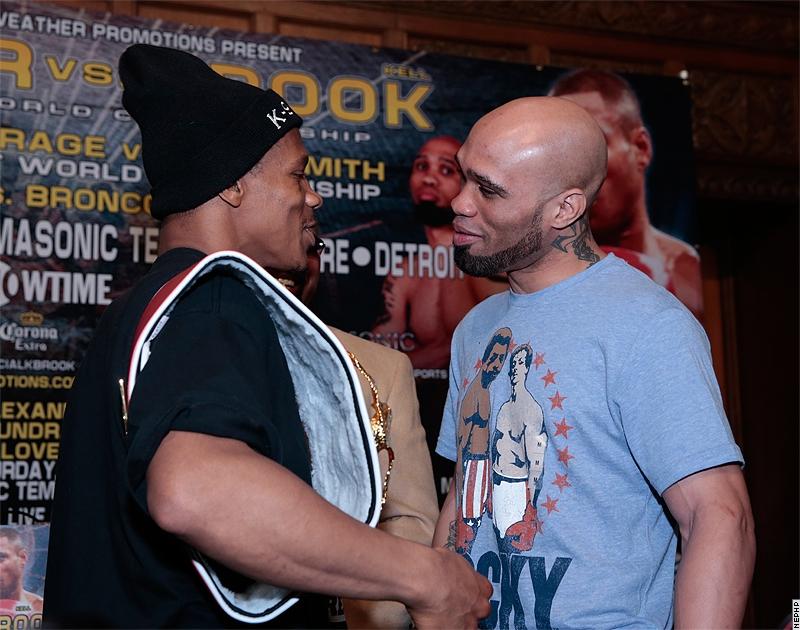 """""""K9"""" Bundrage vs. Ishe Smith, only in boxing"""