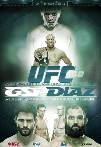 UFC 158: St-Pierre vs Diaz Extended Preview