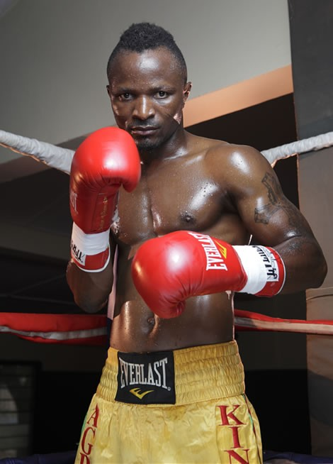 IBO Champ King Kong Agbeko Back in The Bantamweight Mix